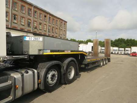 2014 Faymonville Max F-S43-1A1Y Tri Axle Low Loader