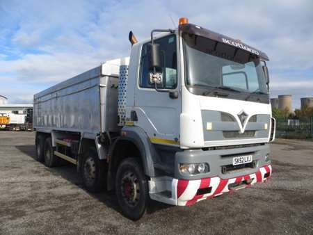 2003 Foden S108R 8x4 Insulated Alloy Tipper (8923)