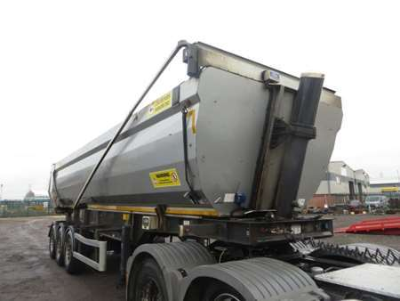 2012 Weightlifter 3STS Tri Axle Steel Tipping Trailer (9156)