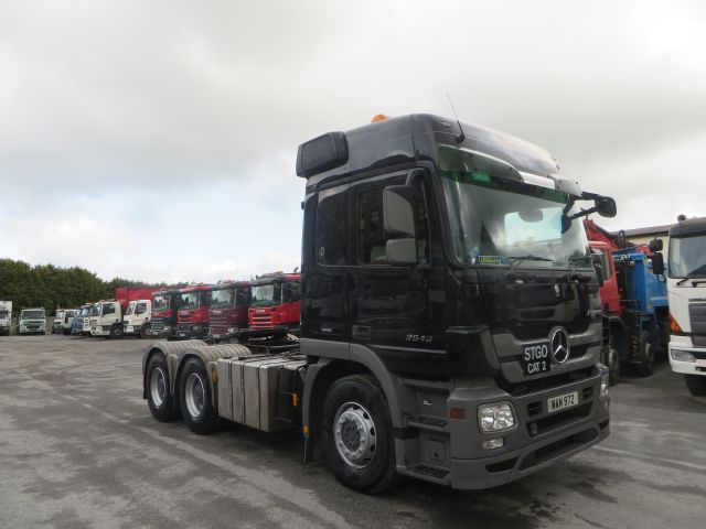 2009 Mercedes Actros 2646 6x4 Double Drive