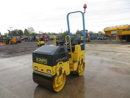 2010 Bomag BW80 ADH-2 Double Drum Vibrating Roller (9743)