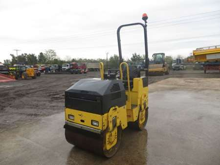 2010 Bomag BW80 ADH-2 Double Drum Vibrating Roller (9744)