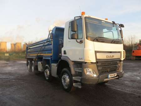 2014 (14) DAF CF400 8x4 Steel Tipper (9859)