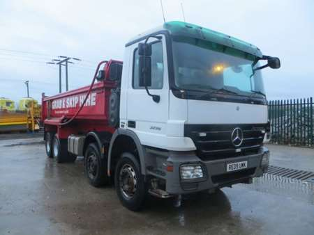 2009 (09) Mercedes Actros 3236 8x4 Steel Tipper (9841)