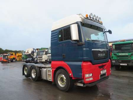 2013 (13) MAN TGX26.480 6x2 Tag Axle
