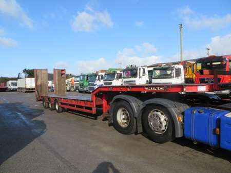 2008 King GTS44-3 Tri Axle Stepframe Low Loader (9449)