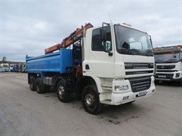 2006 DAF 85CF.340 8x4 Steel Tipper Grab