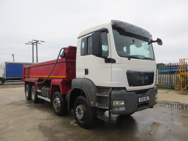 2011 (61) MAN TGS35.400 8x4 Steel Tipper (10097)