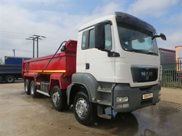 2011 (61) MAN TGS35.400 8x4 Steel Tipper (10096)
