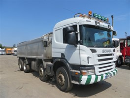 2006 Scania P420 8x4 Alloy Insulated Tipper