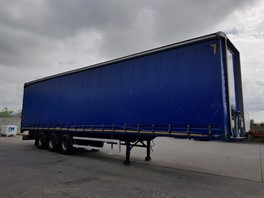 2012 Montracon Tri Axle Curtainsider