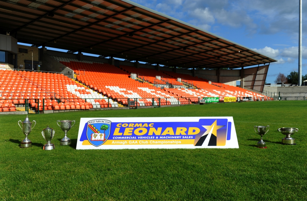 Cormac Leonard Commercials sponsor the Armagh GAA Club Championships for 2018-2020.