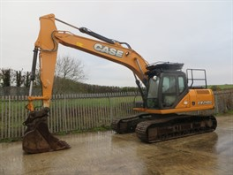 2015 CASE CX210CLC Tracked Excavator
