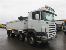 2005 Scania R380 8x4 Alloy Insulated Tipper