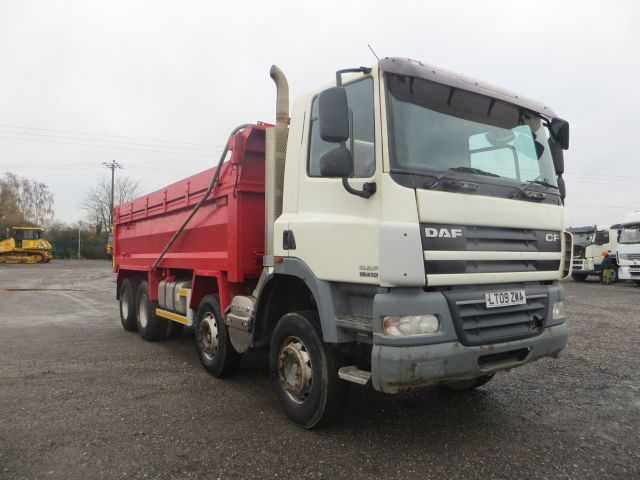 2009 (09) DAF 85CF.410 8x4 Steel Tipper (10610)