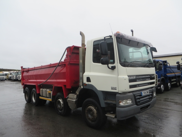 2009 (09) DAF 85CF.410 8X4 STEEL TIPPER