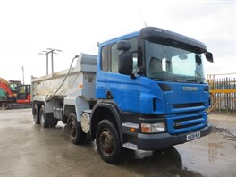 2008 (08) Scania P380 8x4 Steel Tipper (10760)