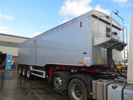 2013 Wilcox Tri Axle Planksided Alloy Bulk Tipping Trailer (10833)