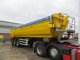 2018 Kelberg Tri Axle Alloy Tipping Trailer
