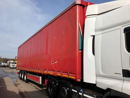 2016 SDC 13.2m Curtainsider