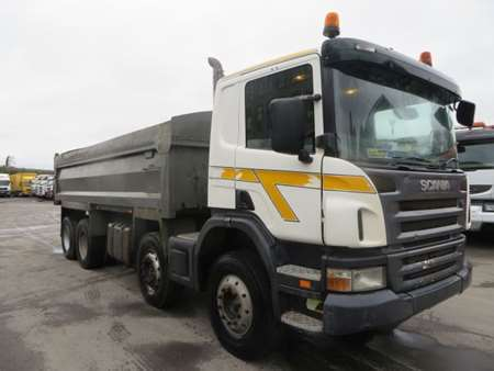 2005 Scania P340 8x4 Steel Tipper