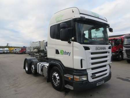 2009 (59) Scania R480 Highline 6x2 Baby Mid Lift