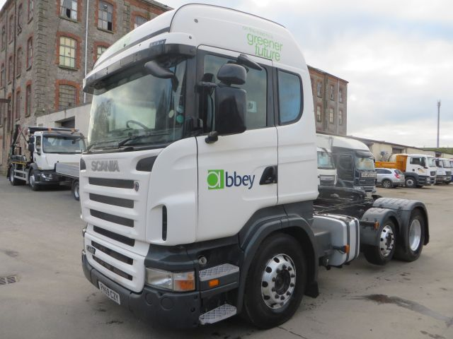 2009 (59) Scania R480 Highline 6x2 Baby Mid Lift | Cormac