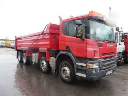 2009 (09) Scania P380 8x4 Steel Tipper