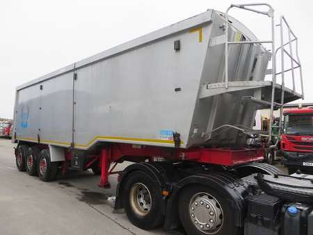 2011 Weightlifter Plank Sider Tipping Trailer