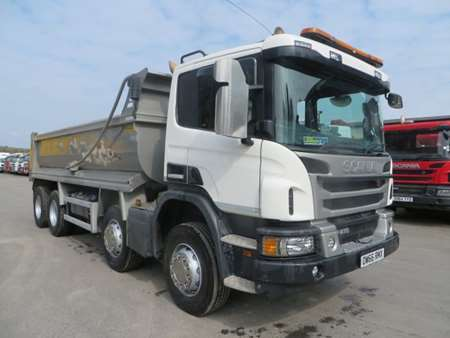 2016 (66) Scania P410 8x4 Steel Tipper