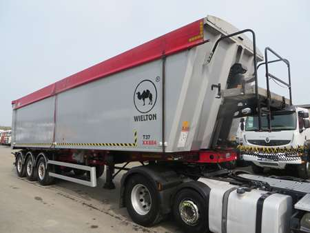2016 Wielton Plank Sided Tipping Trailer