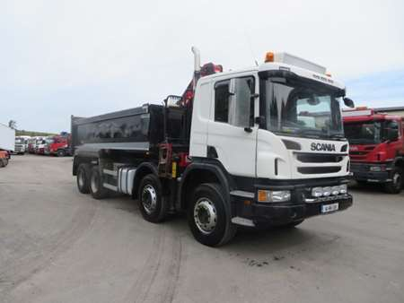 2014 Scania P400 8x4 Steel Tipper Grab (11021)