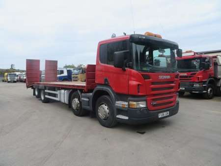 2006 (06) Scania P340 8x2 Rearlift Beavertail (11001)