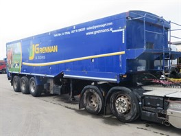 Bridge Bodies Blower Tipping Trailer