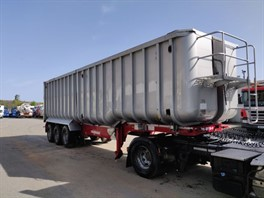 2013 Fruehauf Tri Axle 68cyd Bathtub Bulk Tipping Trailer (11110)