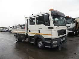 2012 MAN TGL.12 220 4X2 3 WAY TIPPER CREWCAB