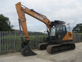 NEW UNUSED CASE CX130-D TRACKED EXCAVATOR