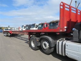 2009 SDC EXTENDABLE FLAT TRAILER