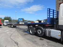 2005 SDC EXTENDABLE FLAT TRAILER