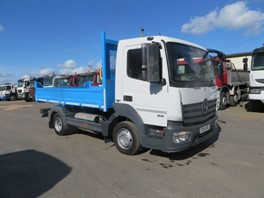 2014 (64) Mercedes Atego 816 4x2 7.5T Steel Dropside Tipper (11129)