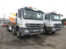 2011 (61) Mercedes Actros 3236 8x4 Concrete Mixer (Choice) (11324)