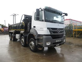 2012 (62) Mercedes Axor 3240 8x4 Steel Tipper (11226)