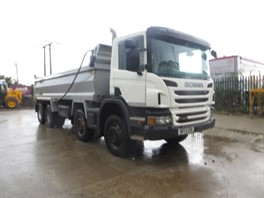 2013 (13) Scania P400 8x4 Steel Tipper (11254)