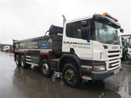2011 SCANIA P400 8X4 STEEL TIPPER