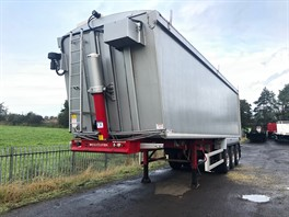 Weightlifter 70Cu Yd sloper Framed alloy Bodied Tipping Trailer