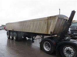 2003 DENNISON 3 AXLE INSULATED TIPPING TRAILER