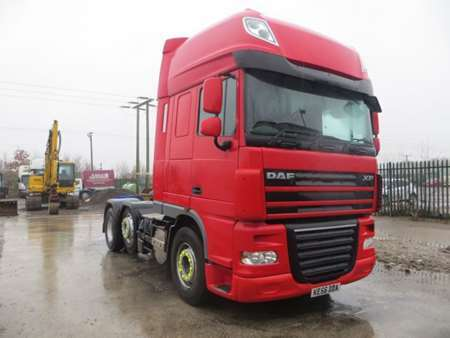 2006 (56) DAF 105XF460 Super Space Cab  6x2 Midlift (11465)