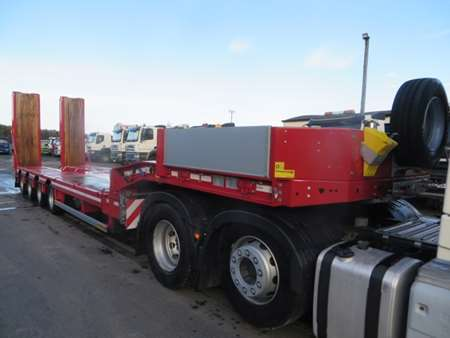 New & Unused Faymonville F-S44-1BBY 4 Axle Low Loader