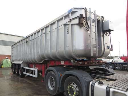 2009 Fruehauf Tri Axle 68cy Bathtube Alloy Tipping Trailer (11492)