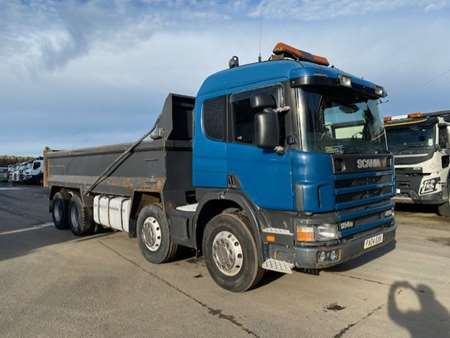 2004 (04) Scania 124.420 8x4 Steel Tipper